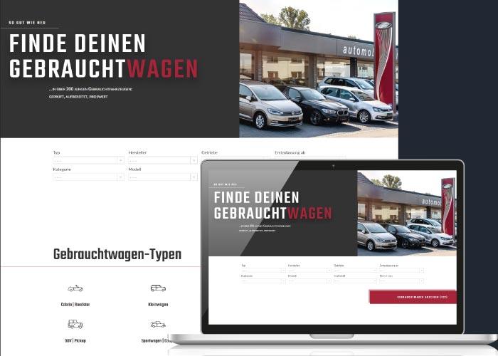 BLICKfang Webdesign für Automobile Maier e. K.